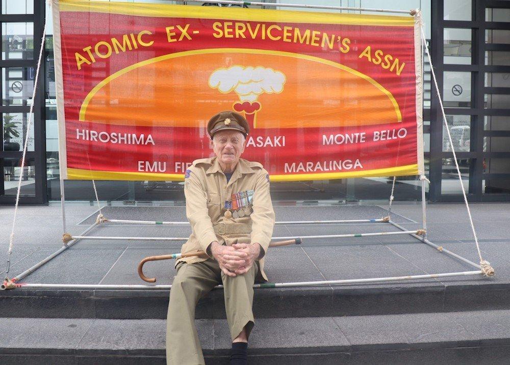 Trevor Robinson nuclear veteran