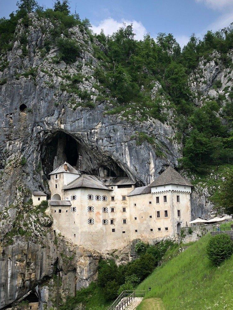 predjama castle walking holiday